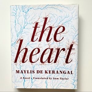 "4/$20 ""The Heart"" Novel by Maylis de Kerangal"